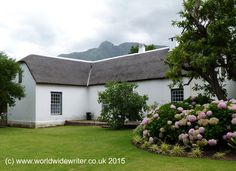 A Rich Heritage: The Cape Dutch Buildings of Swellendam, South Africa Cape Dutch, Old Town, South Africa, Buildings, Scenery, Embroidery, Architecture, House, Travel