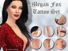 Sims 4 CC's - The Best: Tattoos by LiliSimmer