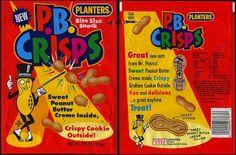 PB Crisps: | The 35 Best School Lunch Snacks Of AllTime