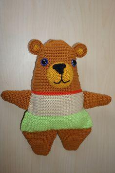 Benny Bär Häkelanleitung Pikachu, Etsy, Fictional Characters, Art, Crochet Hippo, Fast Crochet, Cuddling, Craft Gifts, Handmade