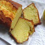 Cake super fondant au citron avec thermomix
