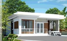 small house design inside with modern tiny house prefab with house paint brands for house plans modern - Best Home Interior Design Single Floor House Design, Modern Small House Design, Duplex House Design, Simple House Design, House Front Design, Minimalist House Design, Cool House Designs, Modern Bungalow House, Small House Exteriors