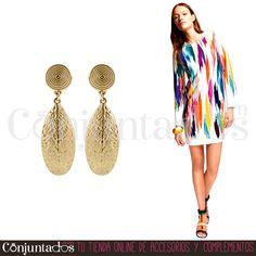Vas a querer tener los #pendientes Gynelle ★ 11,95 € en http://www.conjuntados.com/es/pendientes/pendientes-largos/pendientes-gyllene.html ★ #novedades #earrings #vintage #conjuntados #conjuntada #joyitas #lowcost #jewelry #bisutería #bijoux #accesorios #complementos #moda #fashion #fashionadicct #picoftheday #outfit #estilo #style #GustosParaTodas #ParaTodosLosGustos
