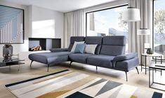 Coltar fix cu sezlong pe stanga Monte Carlo, cm Monte Carlo, Couch, Living Room, Interior Design, Inspiration, Furniture, Corner, Decoration, Home Decor