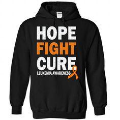 Cure - Leukemia - #hostess gift #shirt dress. WANT THIS => https://www.sunfrog.com/LifeStyle/Cure--Leukemia-7725-Black-Hoodie.html?id=60505