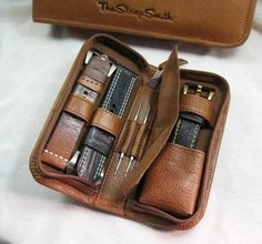 Watch Travel Case by The Strap Smith via Fancy
