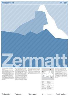 Michael Hernan, Der Zermatt Plakate. 2005