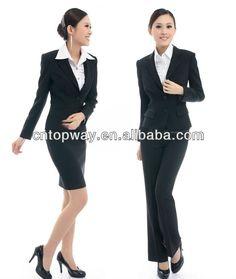 New 2014 winter formal feminino blazer women business for Office design uniform