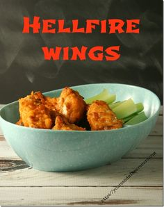 Hellfire Wings- my husband is going to love these!