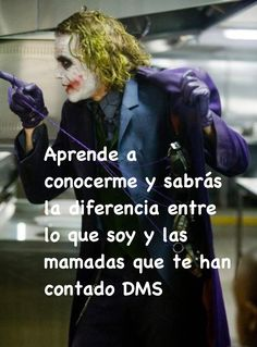 Joker Frases, Akatsuki, Humor, Hard Quotes, Strong Quotes, Wise Words, Motivation Quotes, Humour, Moon Moon