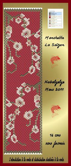Plusieurs Manchettes !!! - Le monde des perles de Kobalyelye