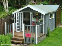 The Wee Flower Shed is an entrant for Shed of the year 2014 via @readersheds #shedoftheyear