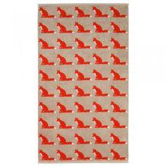 Anorak Proud Fox Bath Sheet