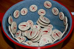 Craft Show Best Sellers: Snowman Pins & Magnets…and a New Item: Snowman Wine Corks! | Eyeballs By Day, Crafts By Night
