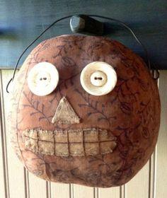 primitive jack-o-lantern