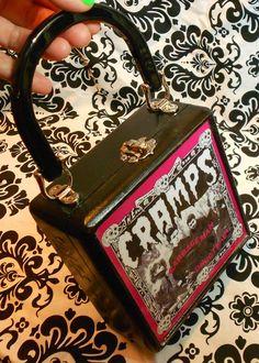 The Cramps cigar box purse