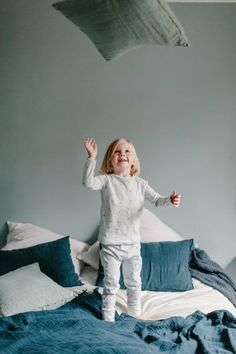 Kids – Marta Puglia @cometeparis FW19 campaign #kids #pyjama #nightwear #kidsnightwear #organiccotton