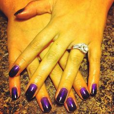 #shellac of the day with the purple #additive