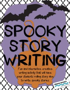 FREEBIE! Your students will love this fun and engaging creative writing activity that will have them rolling story element dice (setting, character, obstacle, and a story starter) to create a random set of story components. Once students have their story components, they'll plan and write a spooky story as they combine each element into an entertaining writing piece.