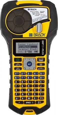 Brady Handheld Label Printer with Rubber Bumpers, Multi-Line Print, 6 to 40 Point Font The Brady handheld label printer creates multi-line Best Label Maker, Label Makers, Gadget World, Server Room, Printing Labels, Ebay, Printers, Top, Breaker Box