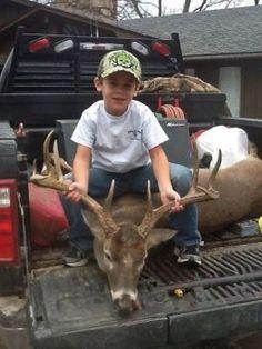 Young Louisiana Hunter Scores Another Big Buck! on http://www.deeranddeerhunting.com