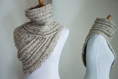 Awesome knitting/crichet pattern! Details up on the blog.