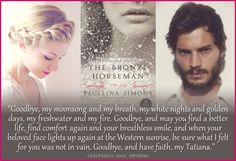 The most beautiful love story ever told...The Bronze Horseman (The Bronze Horseman #1) by Paullina Simons.