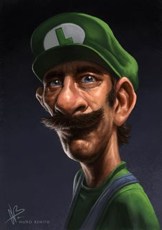 5a7d0fb7736 Luigi by mawelman.deviantart.com on  deviantART Mario And Luigi