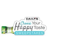 Daily's Cocktails   Choose Your Happy Taste Sweepstakes. Love These Drinks..Low Alcohol Content, And Great Flavors to choose From Just The Way I Like It.