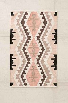 Plum & Bow Samarkand Kilim Woven Rug - Urban Outfitters Love this for a girl's nursery :) Rug Inspiration, Woven Rug, Floor Rugs, Kilim Rugs, Rugs On Carpet, Decoration, Home Accessories, Clothing Accessories, Textiles