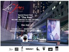 one of our favorite poetry shows returns Dec 2, always a great time @lovejonessunday