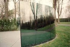 Dan Graham,Two-way Mirror / Hedge Projects, 2004, Santa Monica