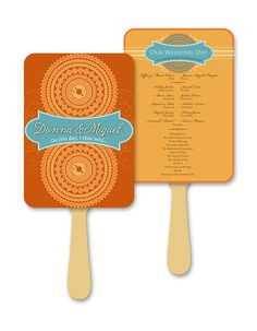 Fall Inspired Fan Program by AprilTwentyFive on Etsy, $180.72