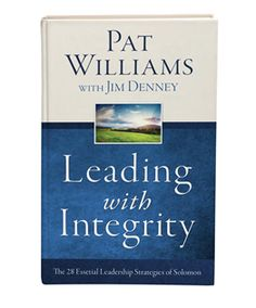 9781634091282 Leading With Integrity H/b WILLIAMS, PAT £11.99