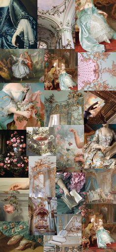 Rococo aesthetic wallpaper