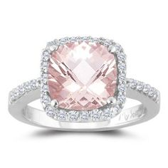 dont know how i would feel about a pink wedding ring... but this is amazing