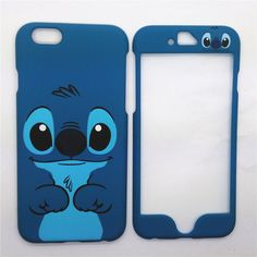 "Hot Cartoon Disney Lilo Stitch Front + back case cover For iPhone 6S Plus 5.5"" in Cell Phones & Accessories, Cell Phone Accessories, Cases, Covers & Skins 