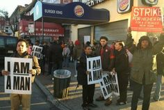 """""""We Deserve Better"""": Striking NYC Fast Food Workers Demand Higher Pay"""
