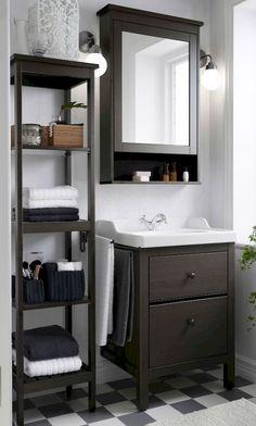 Cool small bathroom storage organization ideas (36)