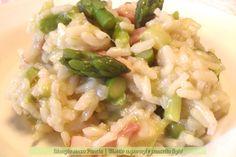 Risotto asparagi e pancetta light, ricetta facile