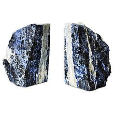 S/2 Large Sodalite Bookends