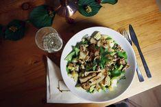 Küche: Veganer Herbstsalat - tea & twigs