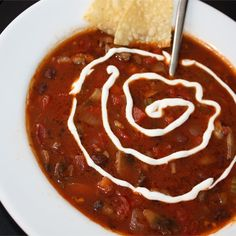 """Pub-Style Vegetarian Chili   """"Delicious. I've found it difficult to get a good rich chili flavor with vegetarian chili's before, but this recipe has a REALLY great flavor."""""""