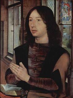 Hans Memling, portret van Anton Van Nieuwenhuysen
