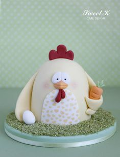 Easter Chicken Tutorial - CakesDecor