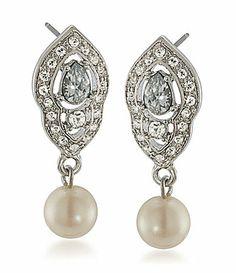 Carolee Double Drop Earrings #Dillards