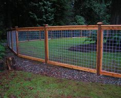 5ft tall cattle panel fence with 2x6 inch cap | GARDENS ...
