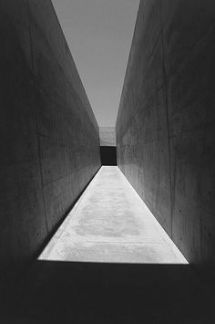 TADAO ANDO Doesn't this just make you want to discover what is at the end???