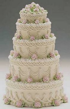Tiered Cakes | Spring wedding cakes, Wedding cake photos and Cake photos