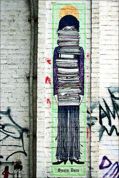 Street art 3d Street Art, Amazing Street Art, Street Art Graffiti, Street Artists, Amazing Art, Land Art, Graffiti Artwork, Sidewalk Art, Desenho Tattoo